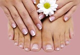 natural manicure pedicure