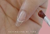 fake nails dubai