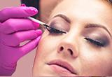 eyelash tinting service